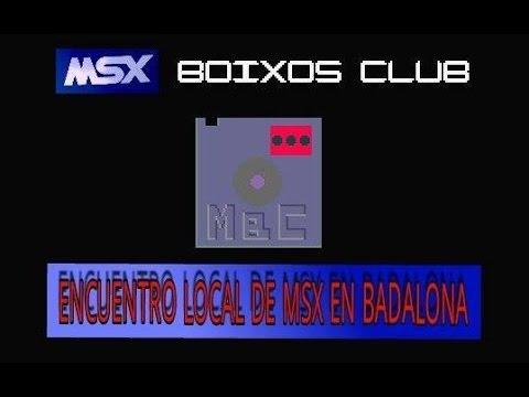 MSX Boixos Club Dossier